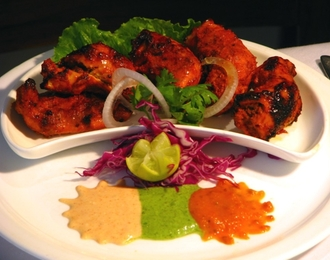 Chicken Tikka 275.-