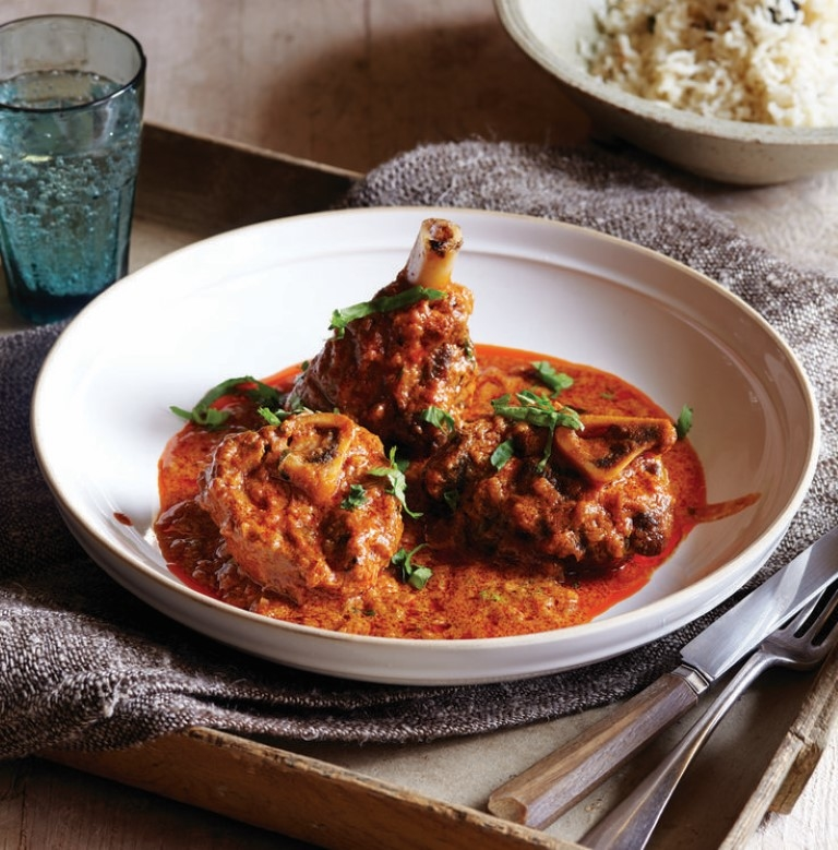 Lamb Rogan Josh **(Dinner Only) 375.-