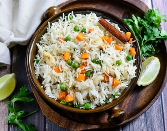 Vegetable Pulao 180.-