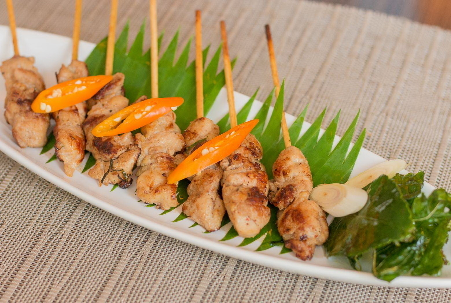 Grilled Chicken Tom Yum 177.-