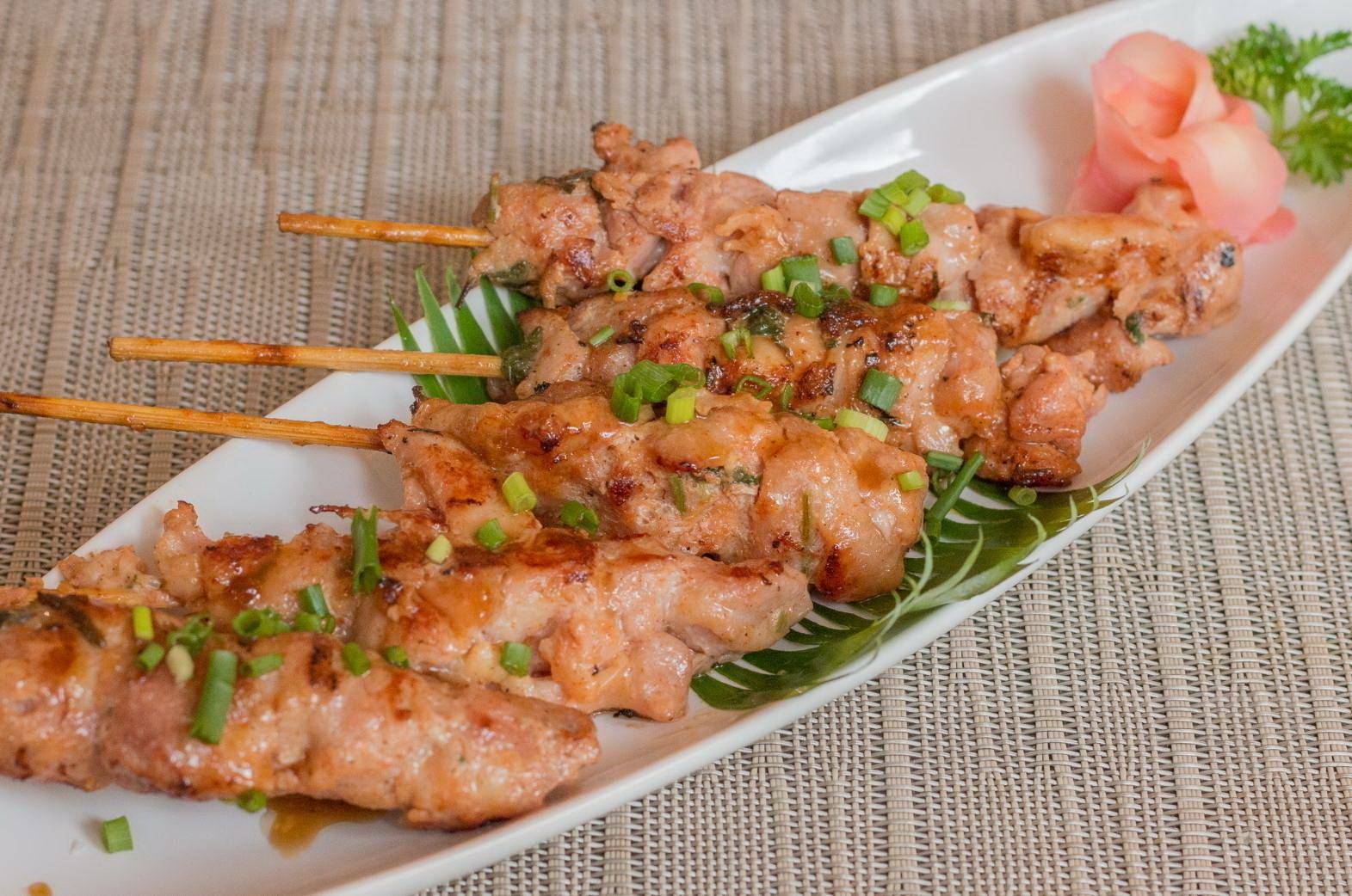 Chicken Yakitori 177.-