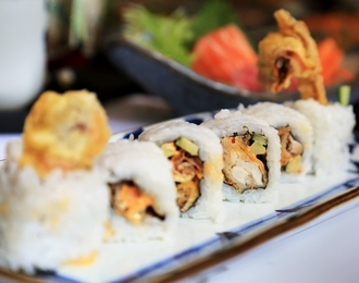Spicy Soft Shell Crab Roll 471.-