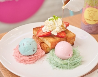 Thai Cotton Candy Toast 215.-